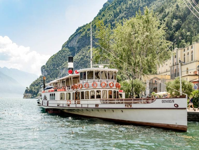 Boat trips around Lake Garda
