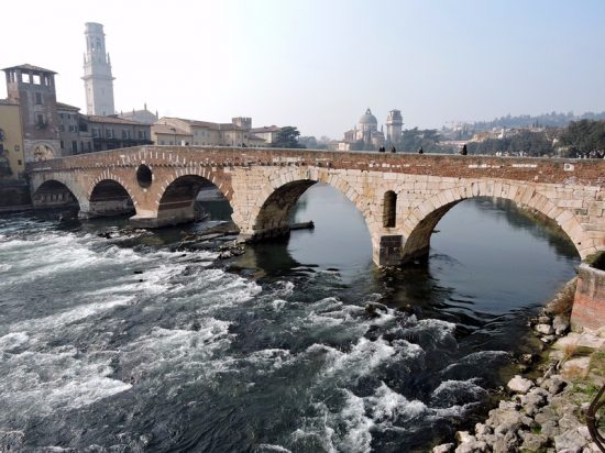Adige-Bridge-Monument-River-Ancient-Verona-Stone-643775