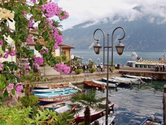 Limone, Italy | The old port