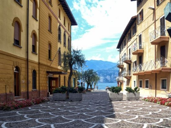 Malcesine, Italy | The town center