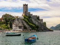 Malcesine, Italy | The Scaliger castle