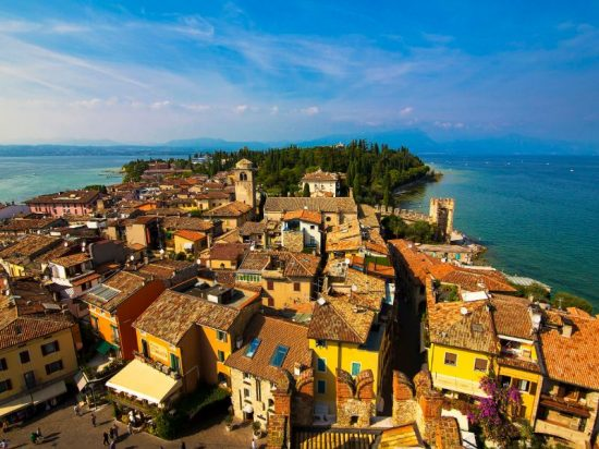 Sirmione, Italy | The town center