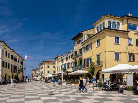 Lazise, Italy | The town center